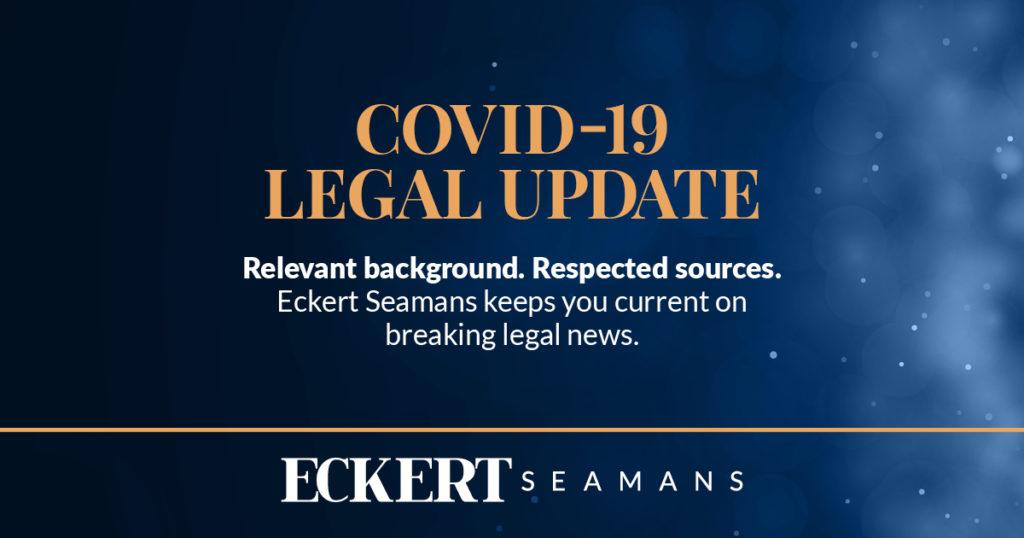 COVID-19 Legal Update