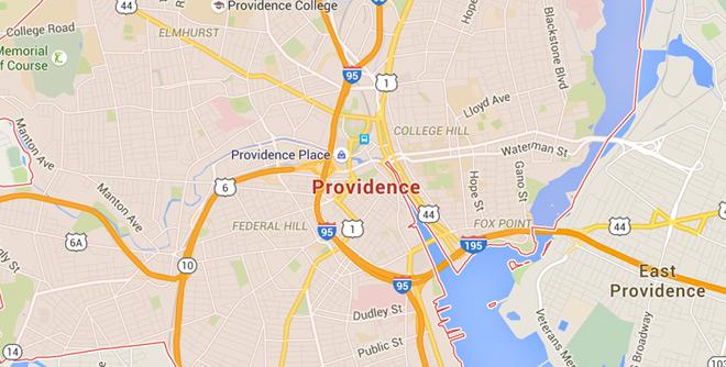 Providence, Rhode Island on Google Maps